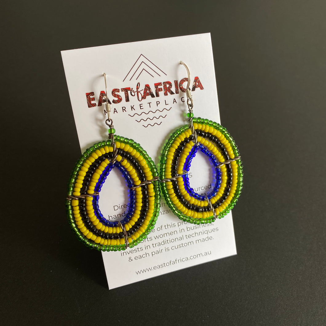 Maasai Beaded Earrings 2020/30