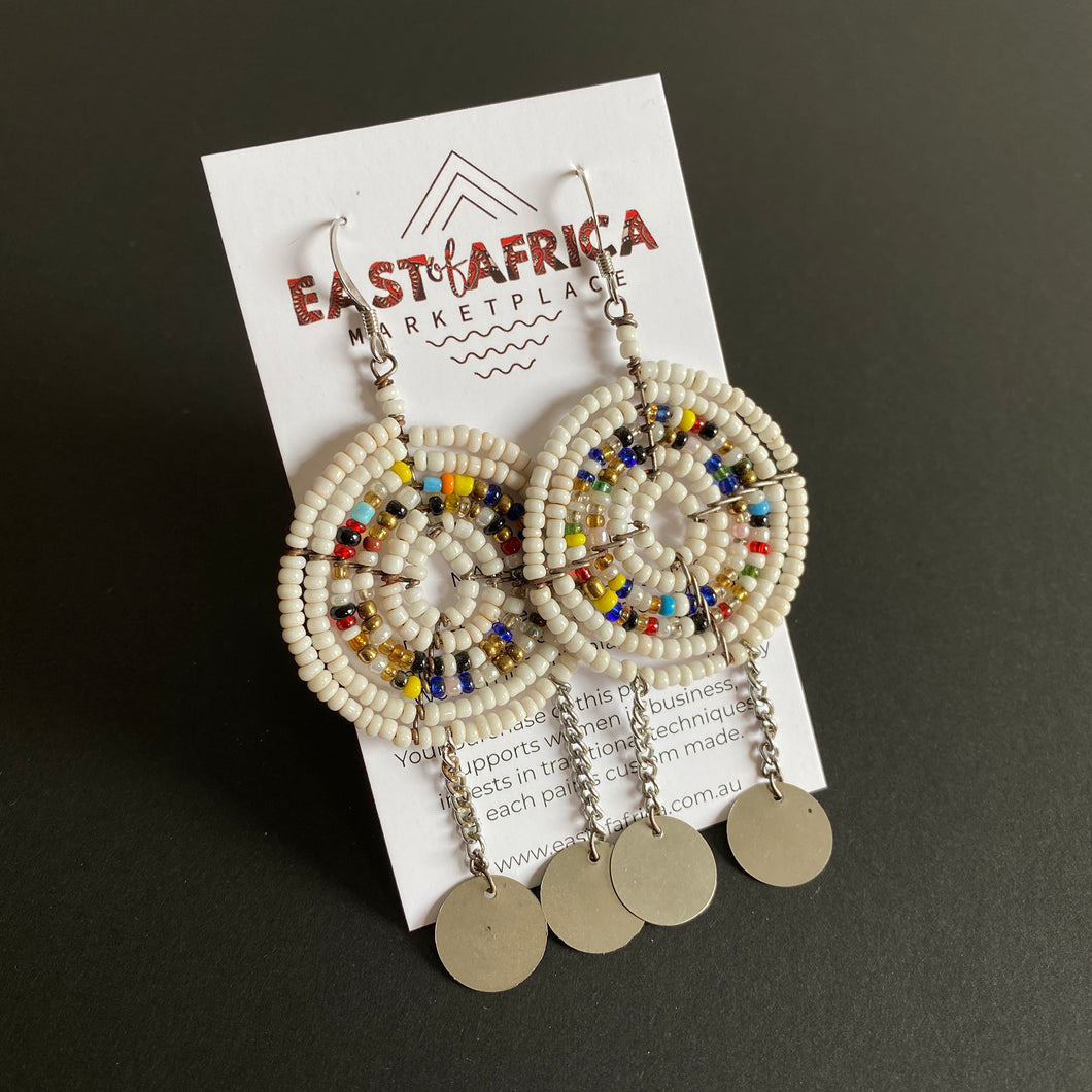 Maasai Beaded Earrings 2020/34