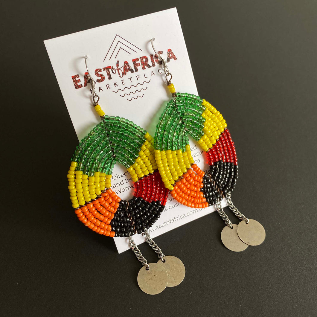 Maasai Beaded Earrings 2020/36
