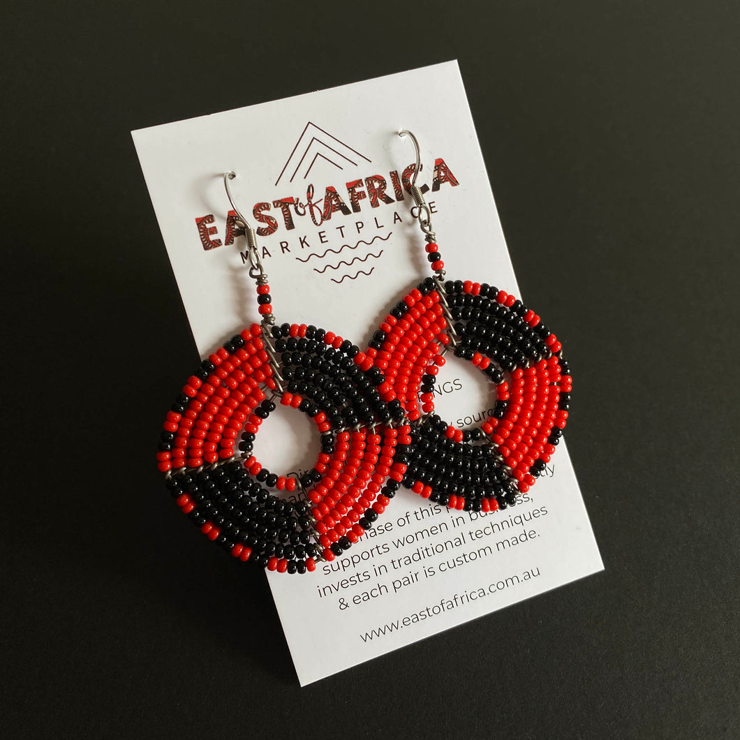 Maasai Beaded Earrings 2020/41