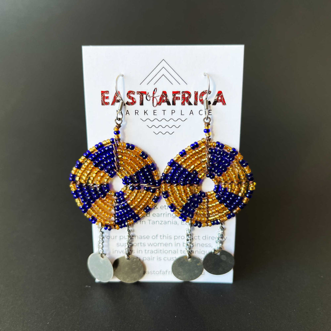 Maasai Beaded Earrings 21/08