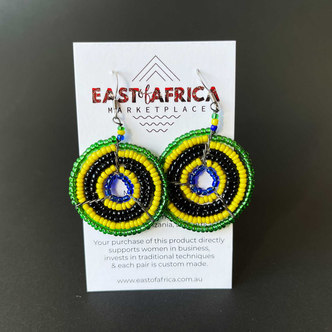 Maasai Beaded Earrings 21/12