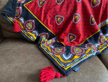 Load image into Gallery viewer, East African Swahili Urafiki Kanga Blanket 2020/11