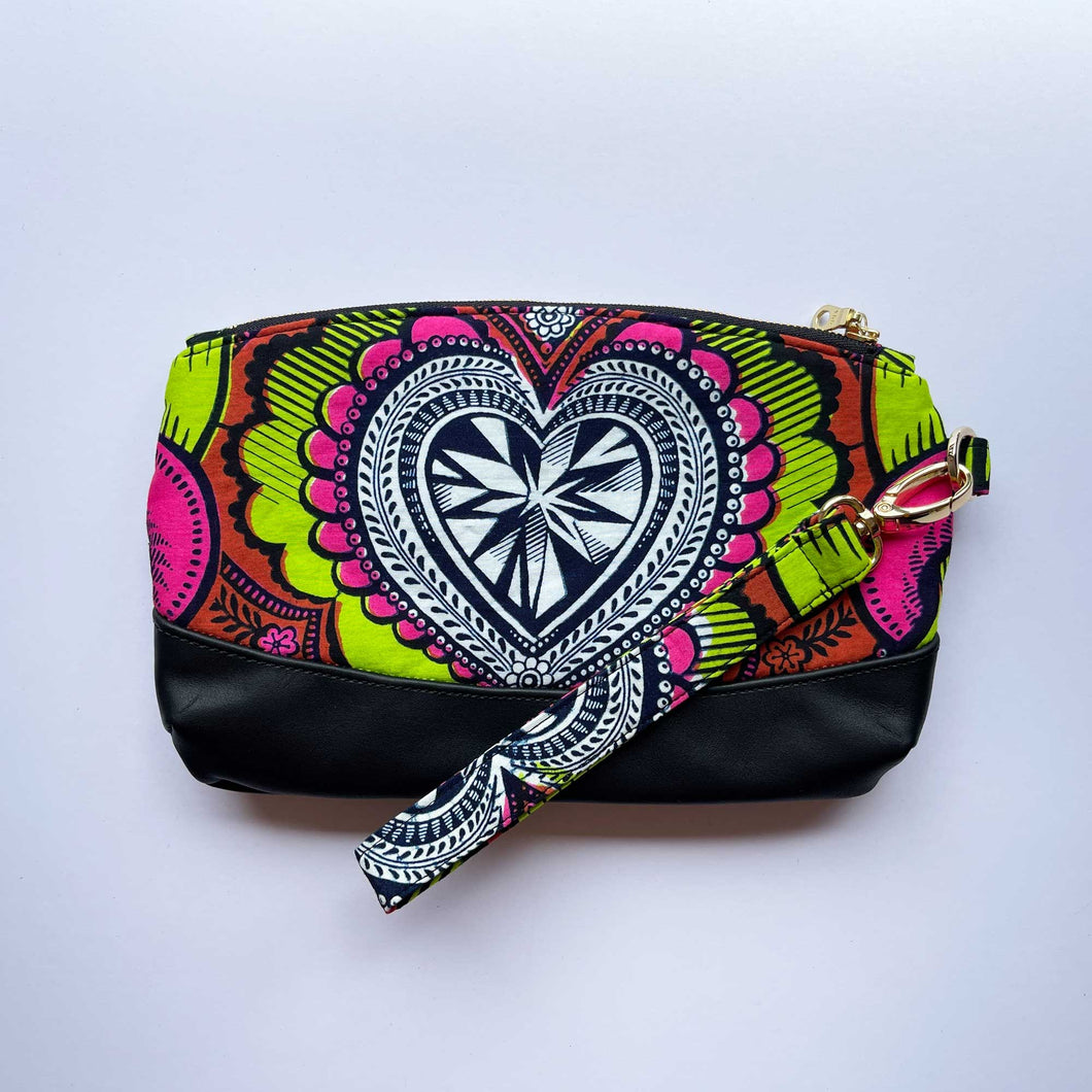 Wax Print Clutch Bag 2020/02