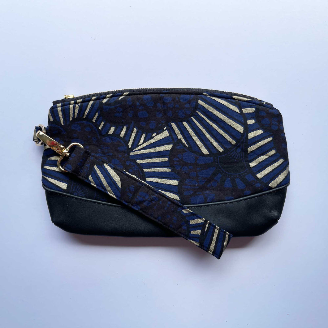 Wax Print Clutch Bag 2020/05