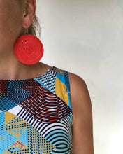 Load image into Gallery viewer, Round Woven Earrings 2020/06