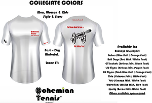 Tennis - For Those About To Lose (Collegiate Colors)