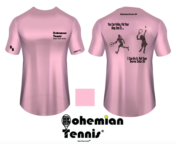 Tennis - Step Into It  (Light Pink color)