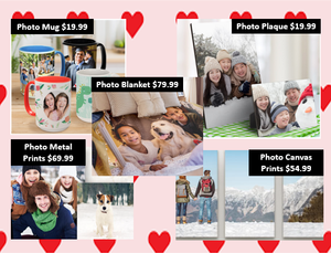 Use Your Own Photo - Custom Photo Printed Gifts