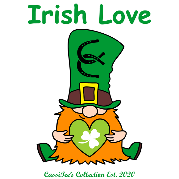 St. Patrick's Day - Irish Love T-shirt