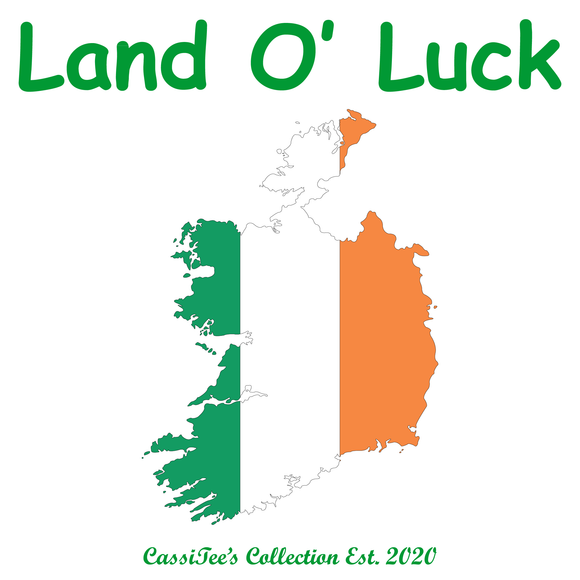 St. Patrick's Day - Land O' Luck T-shirt