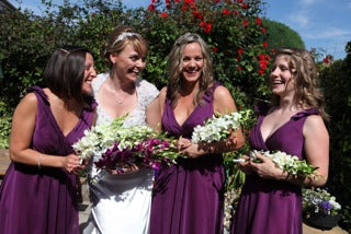 Bridesmaids By Becky Kerr Photography