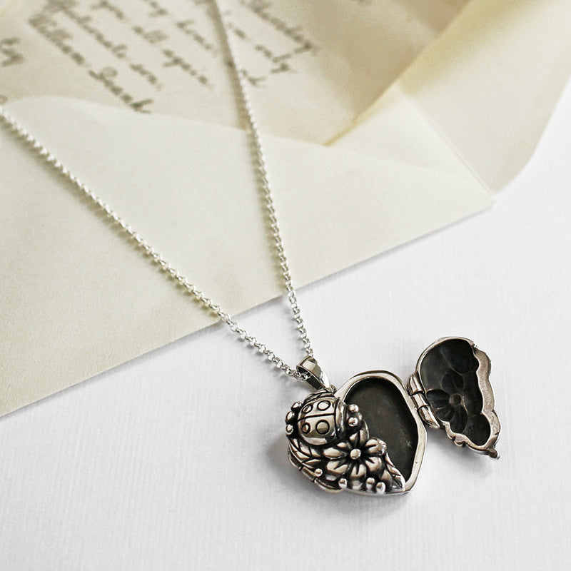 Sterling Silver Ladybird Locket