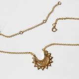 Gold Plated Sterling Silver Marrakech Affair Necklace