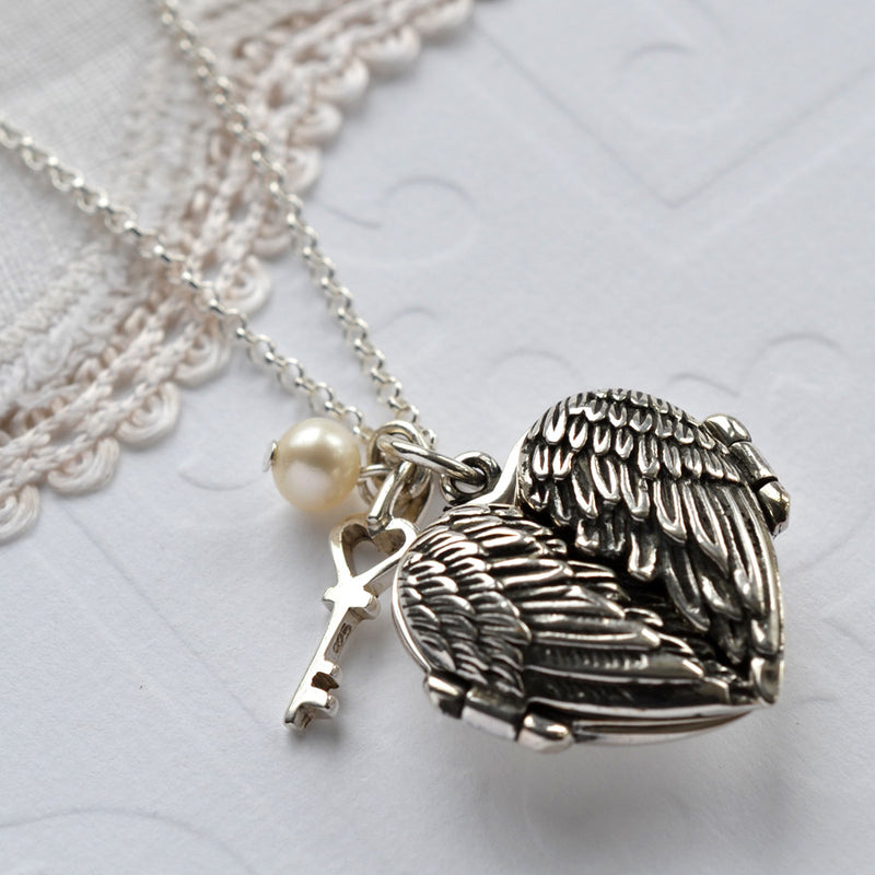 Love Wings Locket