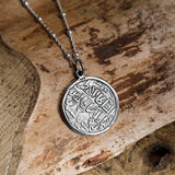 Sultanat Of Rum Dirham Sterling Silver Necklace