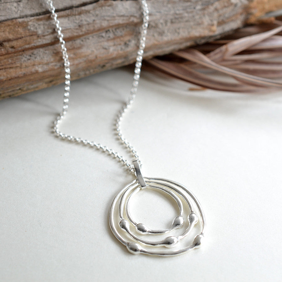 Sterling Silver Liquid Loops Set