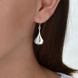 Sterling Silver Pear Drop Set