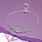 Sterling Silver Third Eye Chakra Bracelet
