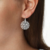 Sterling Silver Starry Night Earrings