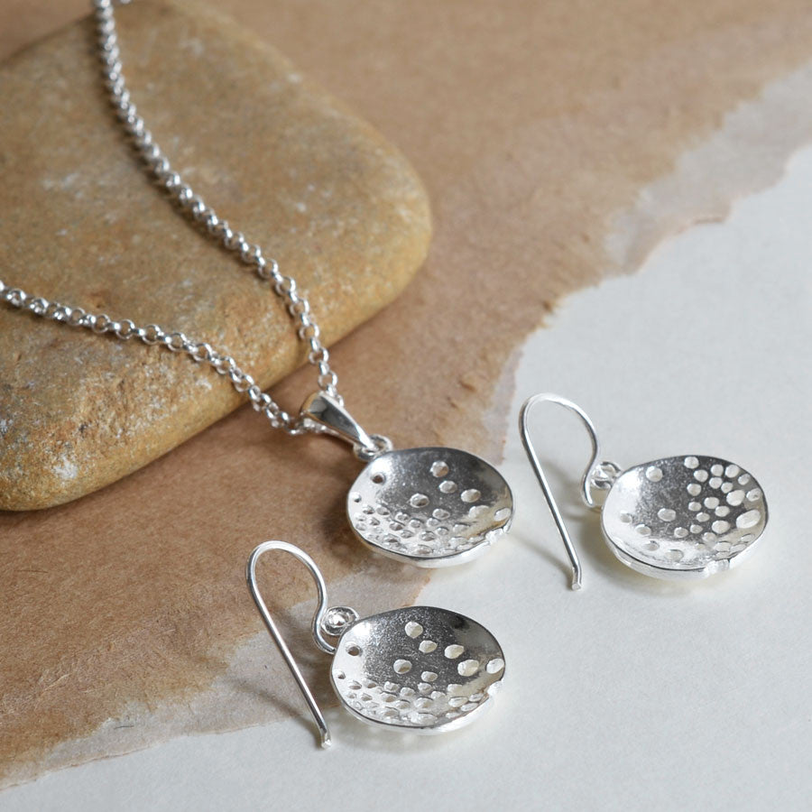 Sterling Silver Bubble Dish Set