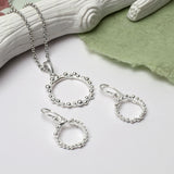 Sterling Silver Splash Necklace