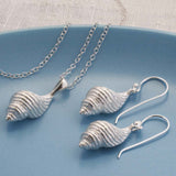 Sterling Spiral Shell Jewellery Set by Martha Jackson