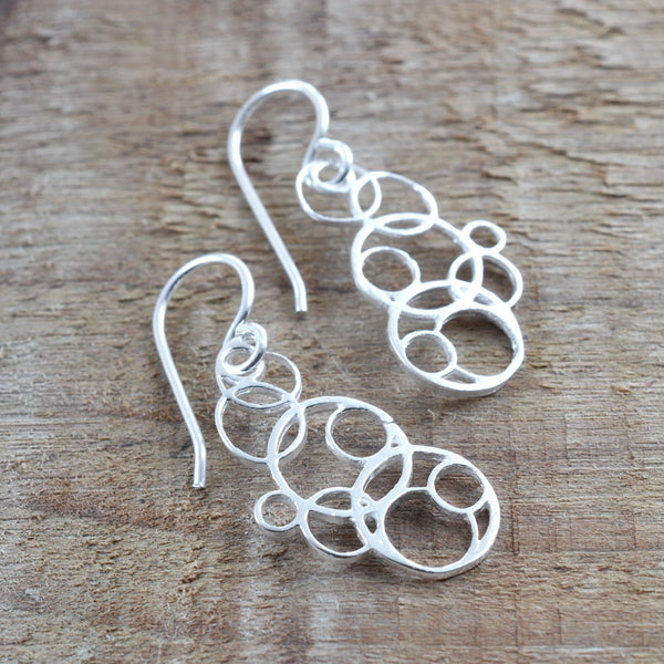 Silver Bubbles Jewellery by Martha Jackson