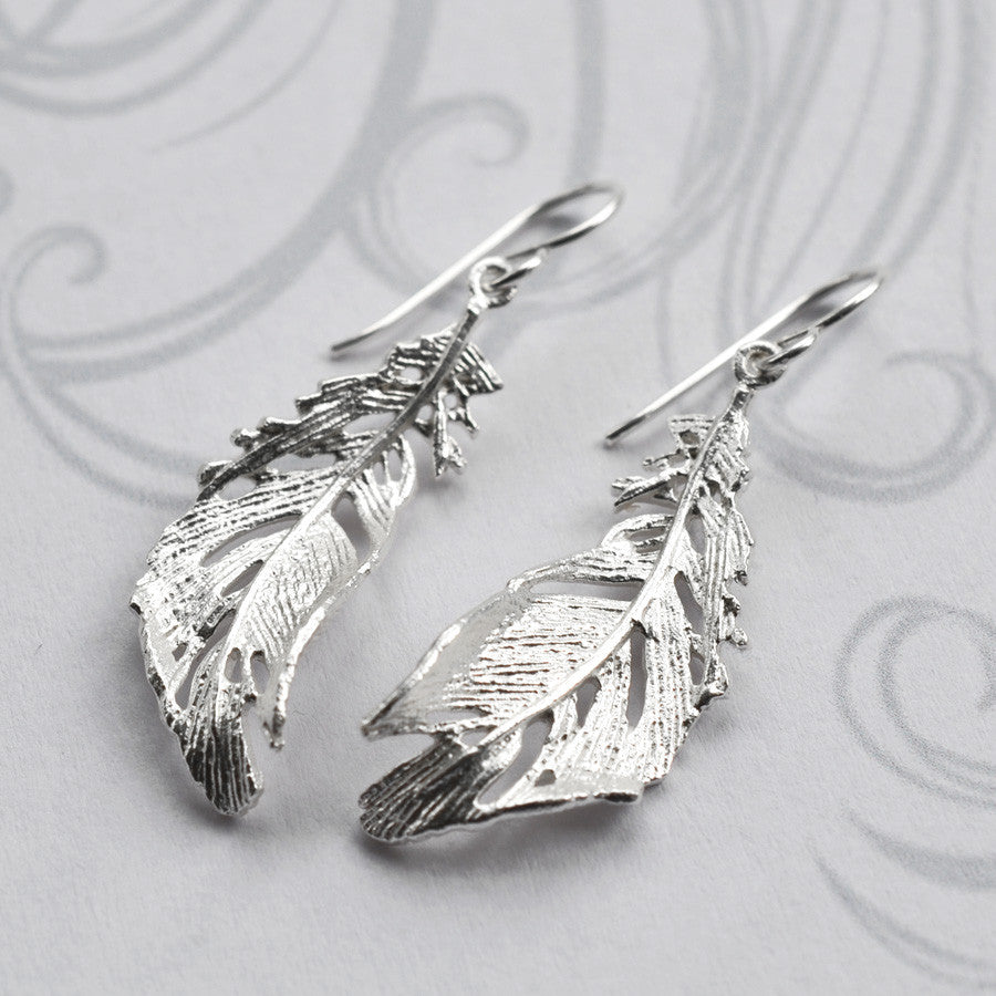 Silver Soft Feather Jewellery by Martha Jackson