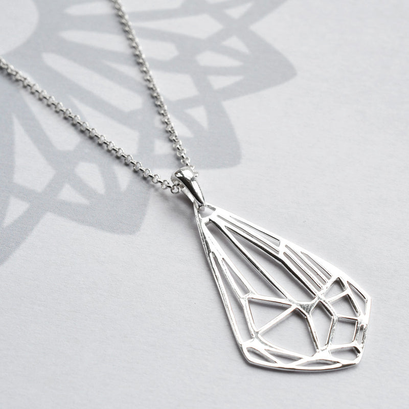 Silver Art Deco Diamond Jewellery by Martha Jackson