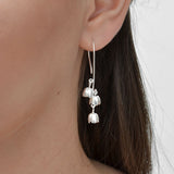 Sterling Silver Blossom Bells Earrings