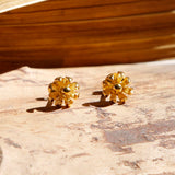Gold Plated Tiny Flower Studs