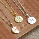 Sterling Silver Pisces Star Sign Necklace