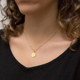 Gold Plated Sagittarius Star Sign Necklace
