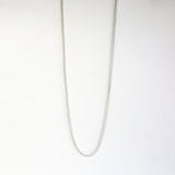 Sterling Silver Popcorn Chain Necklace