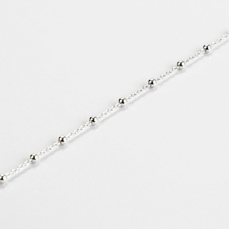 Sterling Silver Delicate Ball Chain