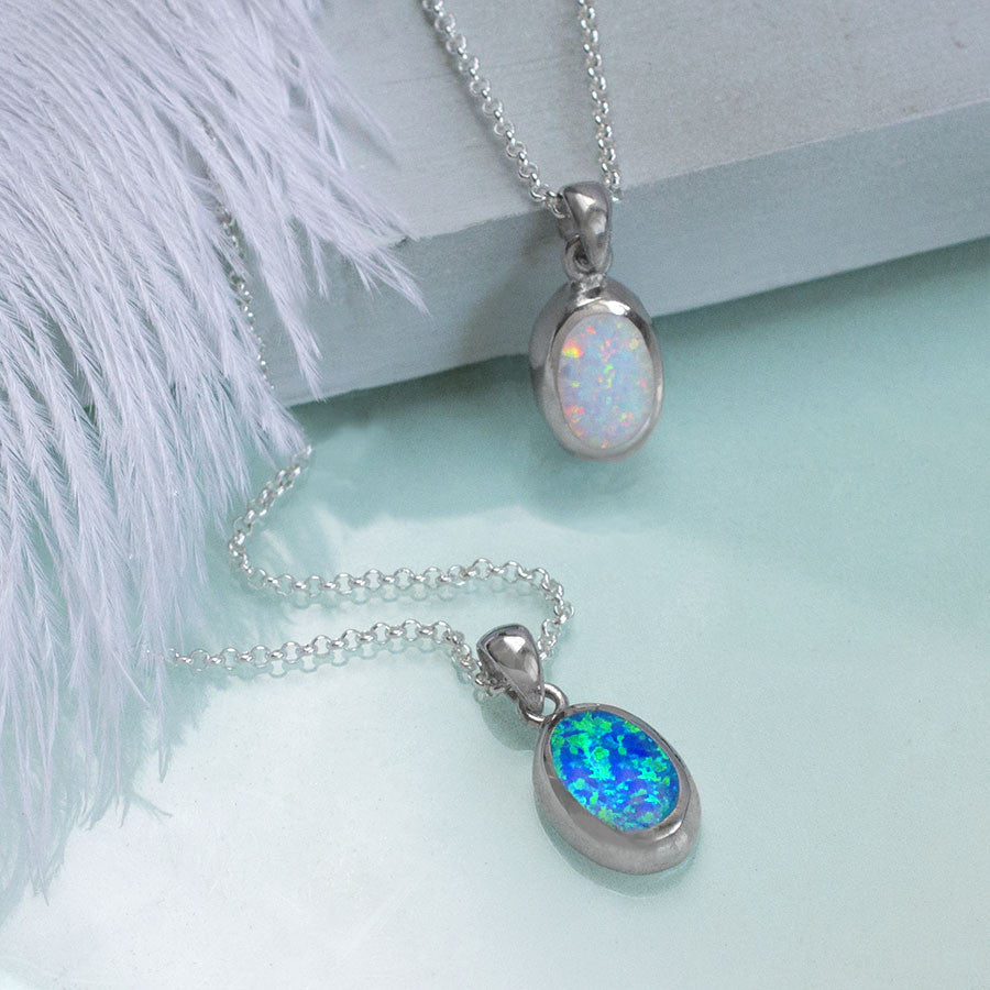 shop emerald locket the gold img regency pendant opal lockets chain on