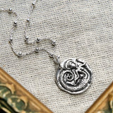 Sterling Silver Siren Necklace