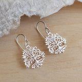 Sterling Silver Tree Of Plenty Earrings