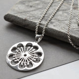 Silver Primrose Jewellery by Martha Jackson