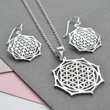 Silver Moroccan Flower Jewellery by Martha Jackson