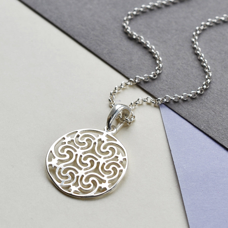 Sterling Silver Starry Night Necklace