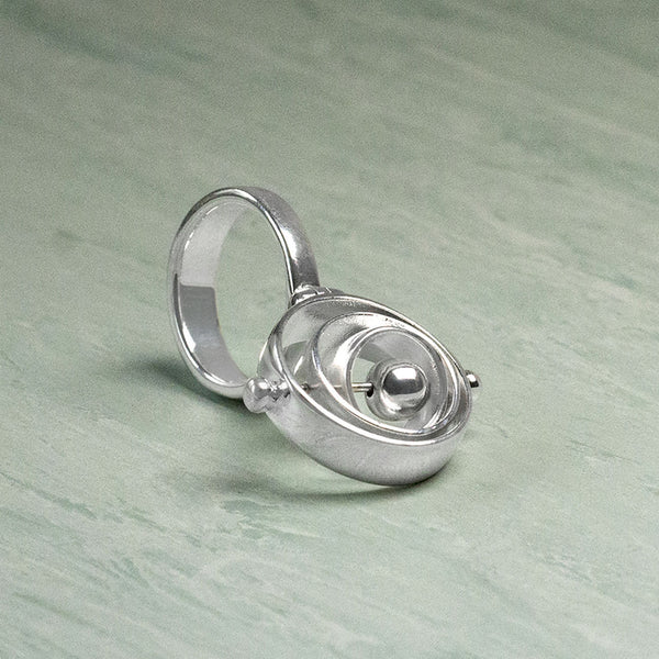 Sterling Silver Gyro Ring