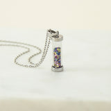 Sterling Silver Kaleidoscope Necklace