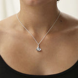 Sterling Silver Padmasana Necklace