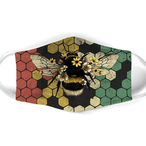 Bee  All Over Prints cloth Mask 8