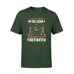 Grumpy Old Firefighter Standard T-shirt - Family Presents