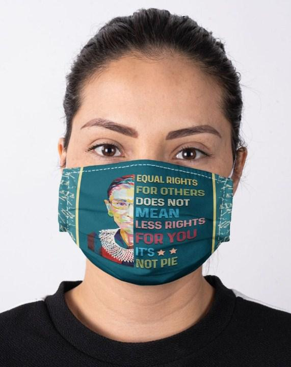 RBG equal rights for others Cloth Mask