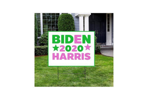 Biden Harris 2020 SVG Pink and Green Vote Kamala Harris election Joe Biden President , sign yard 2020