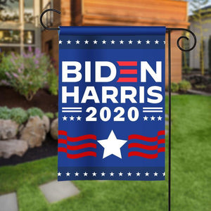 Garden House Flag - Biden Harris 2020 - Vote 2020